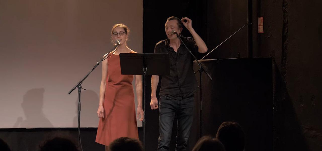Antoine Boute & Jeanne Pruvot Simonneaux (voice & voice)