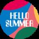 Hello Summer 2020 logo