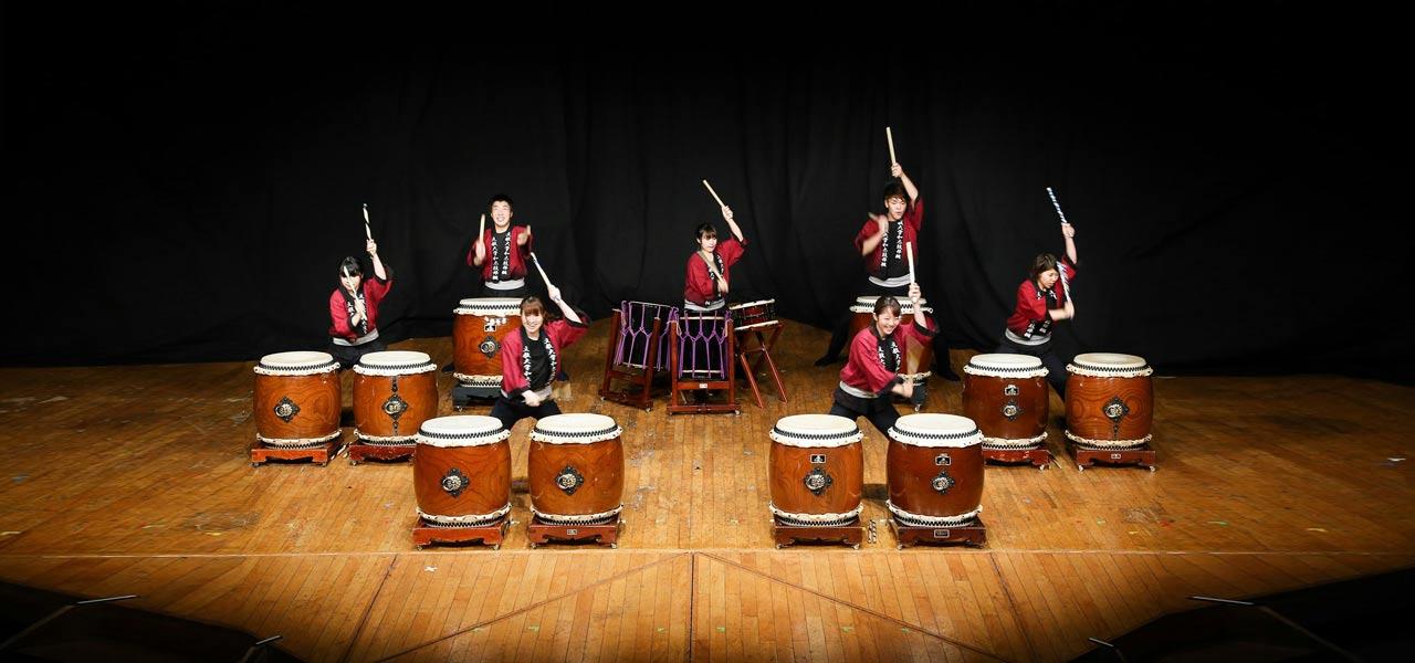 2Taiko (tambours japonais)