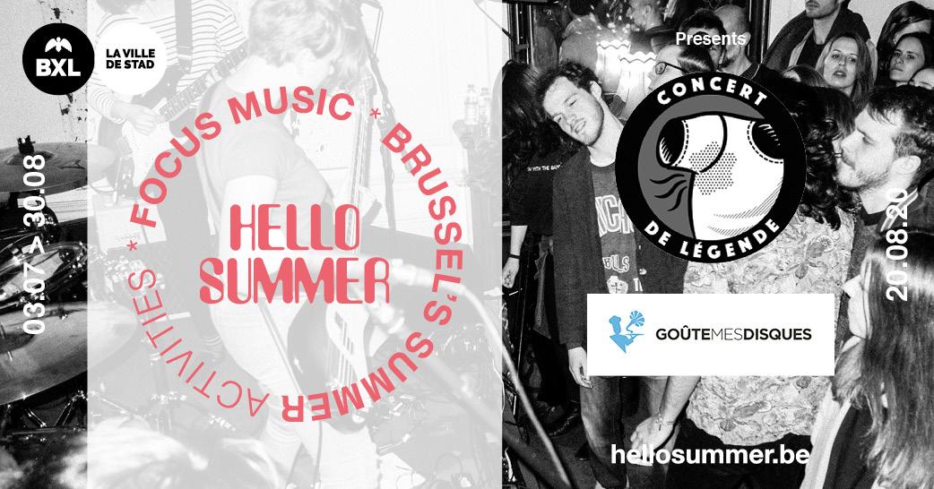 Hello Summer presents Concert de légende & Goute mes disques