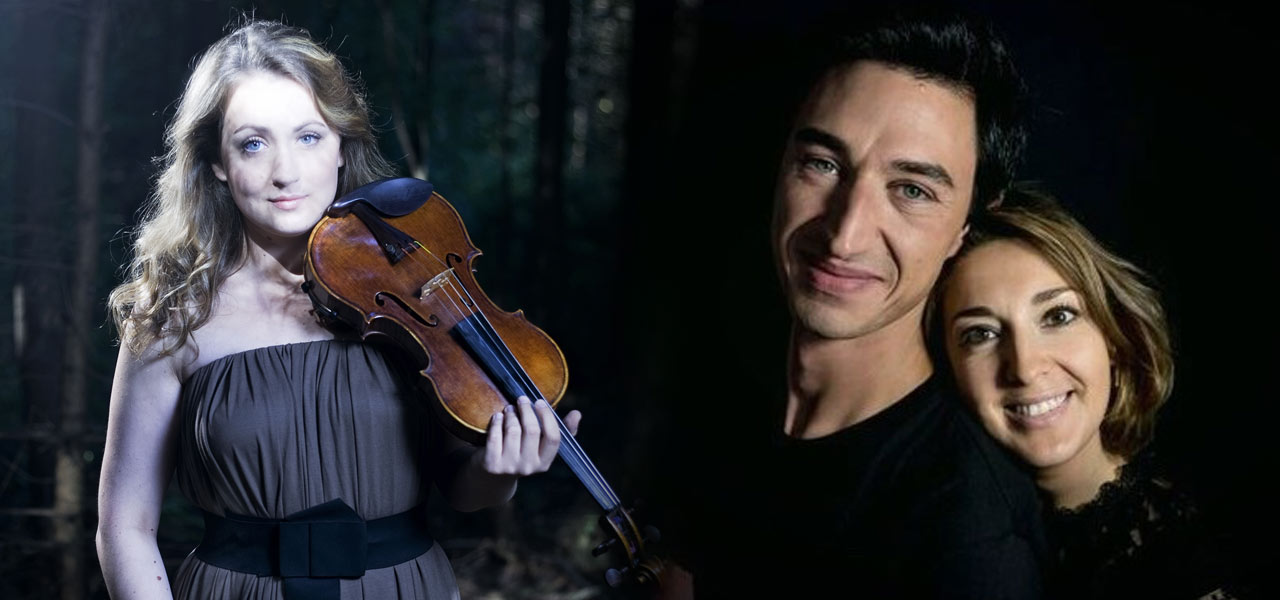 Elina Buksha, Kacper Nowak et Christia Hudziy
