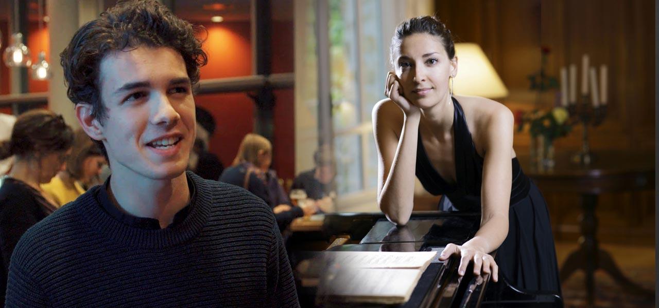 Leon Blekhet et Christia Hudziy